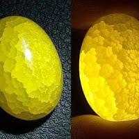 Batu Akik Sisik Naga Kuning
