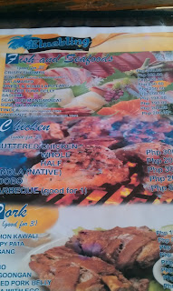 Bluejaz Resort Samal Menu