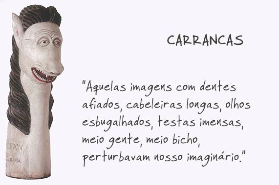 carancas - cultura antropológica - artesanato em casa - contra maus olhados