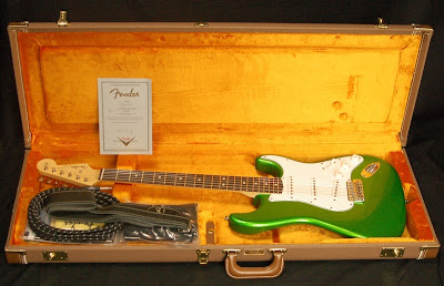 Fender Custom Shop John Cruz Masterbuild Lime Green Metallic Strat