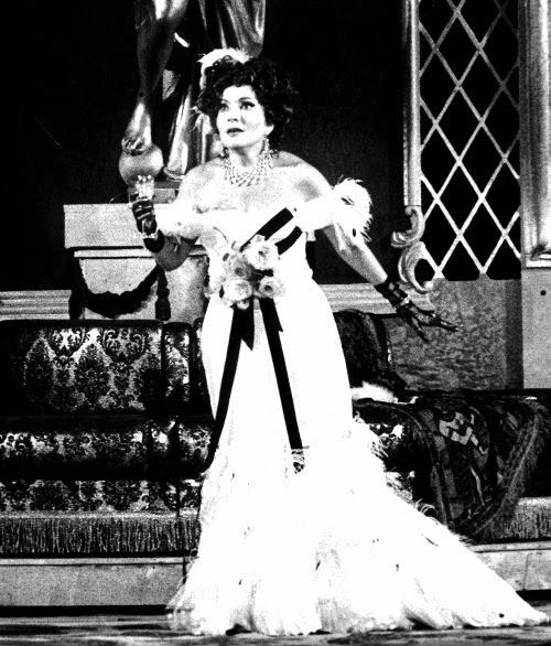 Nelly Miricioiu in La Traviata at Verona