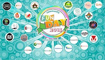 Community Fun Day 2015 di Sayum Sabah, Sibolangit [Kumpulan Foto]
