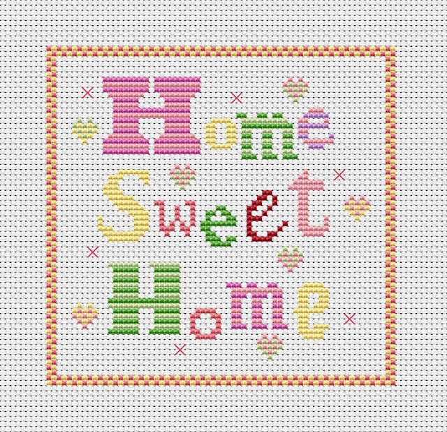 Wonky witch needlecraft my life in stitches for Cross stitch patterns free printable