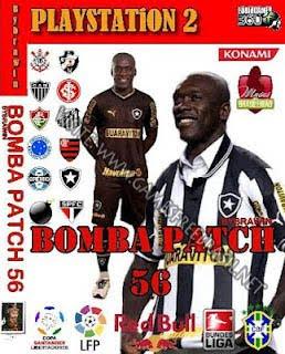 PS2 - Futebol Bomba Patch 56 - Seedorf no Botafogo - 2012