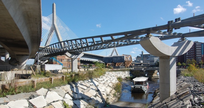 Charles River Pedestrian Bridge