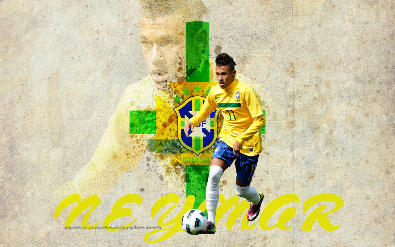 View Neymar Jr Brazil Young Stars Wallpaper   Download Neymar Jr