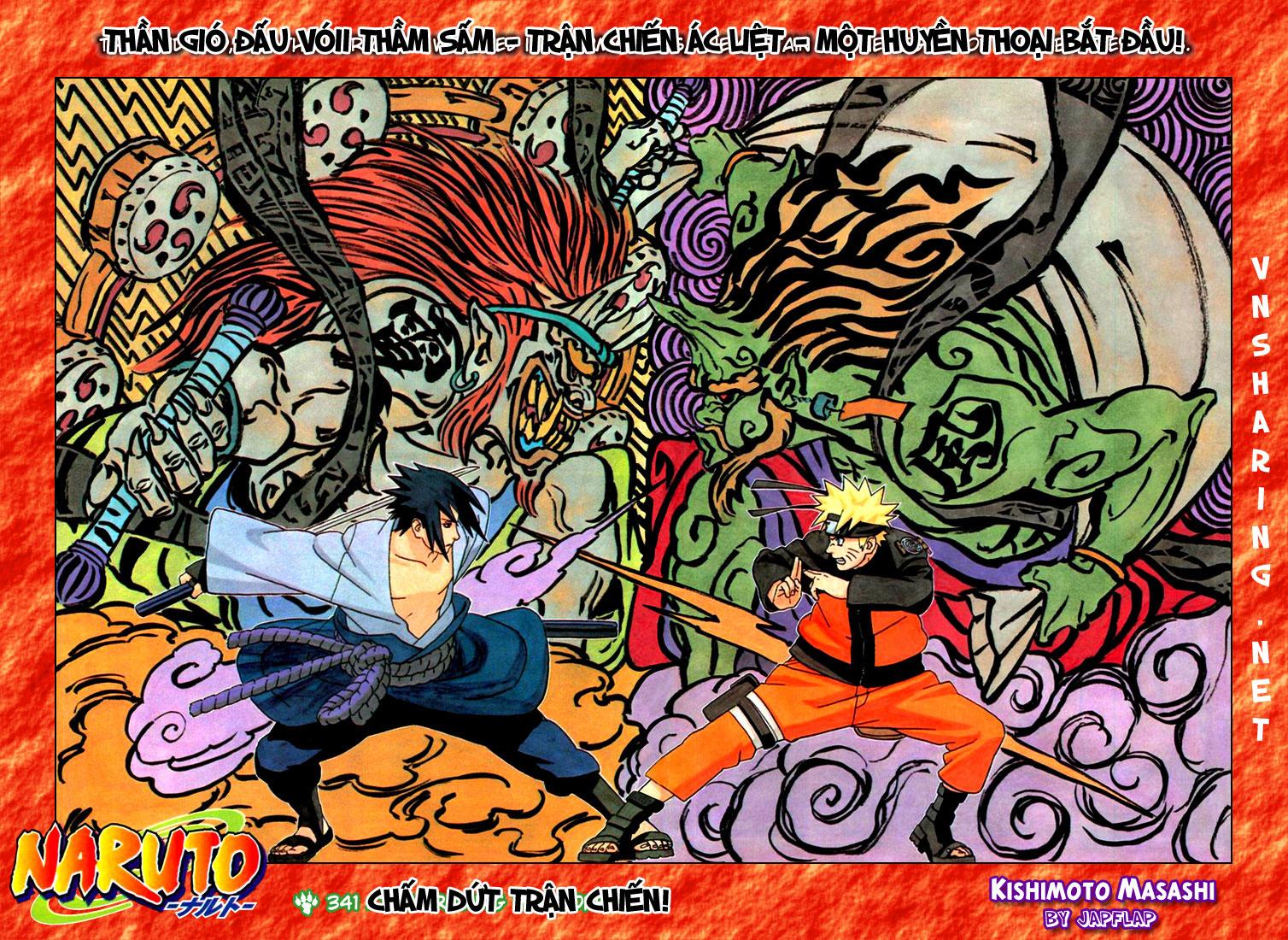 Naruto chap 341 Trang 2 - Mangak.info