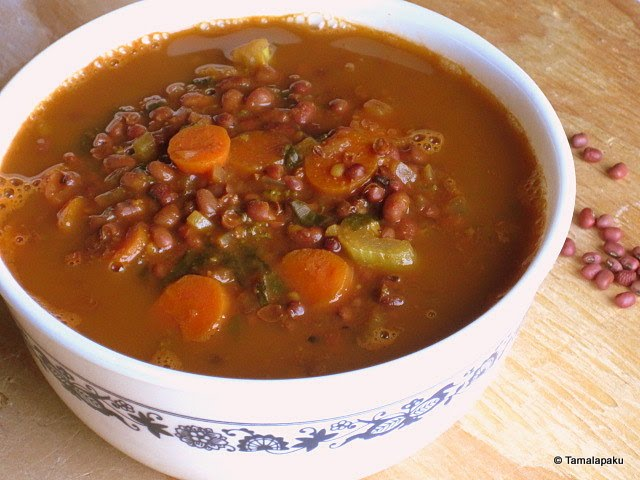 Red Chori Bean Soup