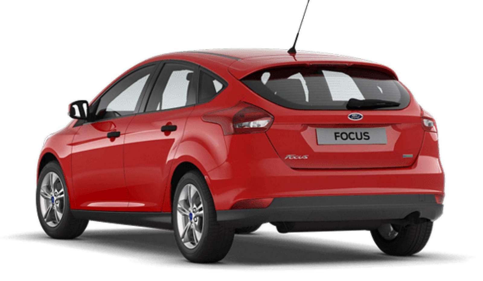 Novo Ford Focus 2016 - traseira