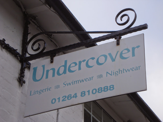 Undercover, the sign