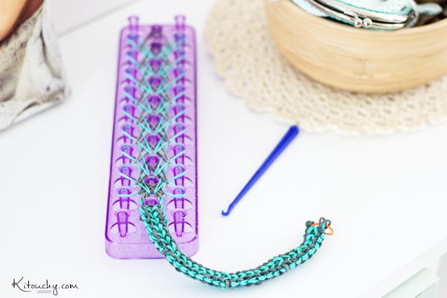 Kitouchy tibo liee malo la folie des bracelets lastiques avec - Comment faire des bracelets en elastique ...