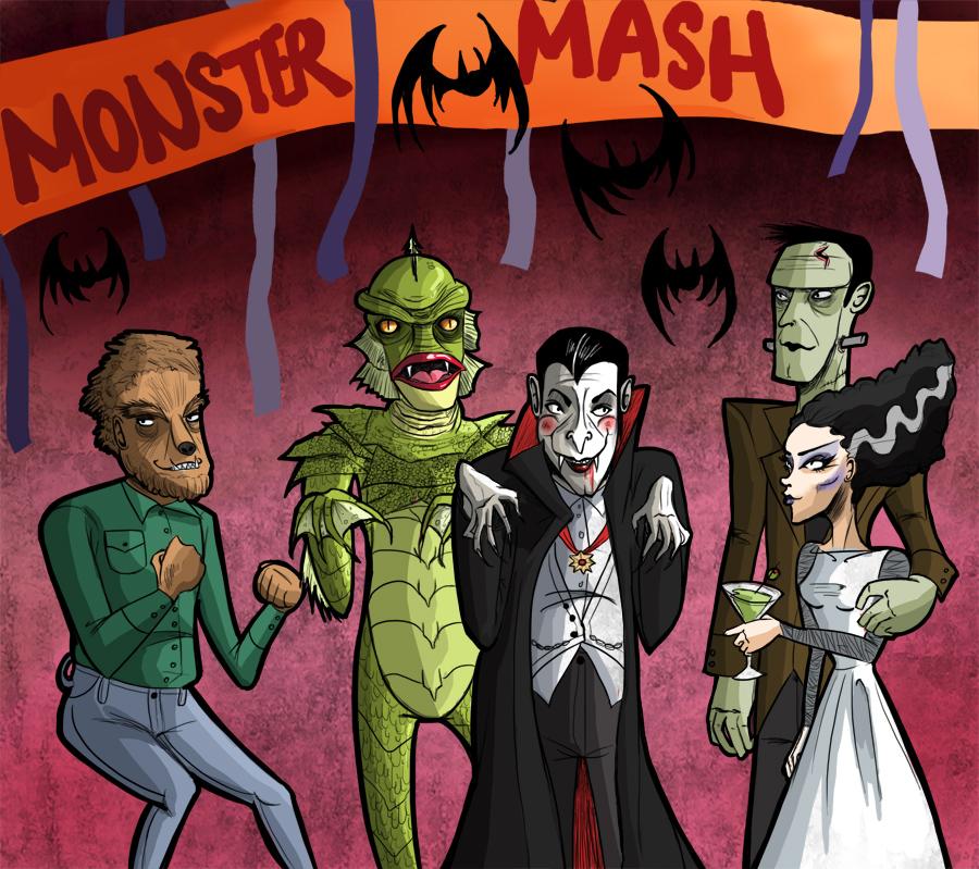 Monster Mash part 1 - YouTube