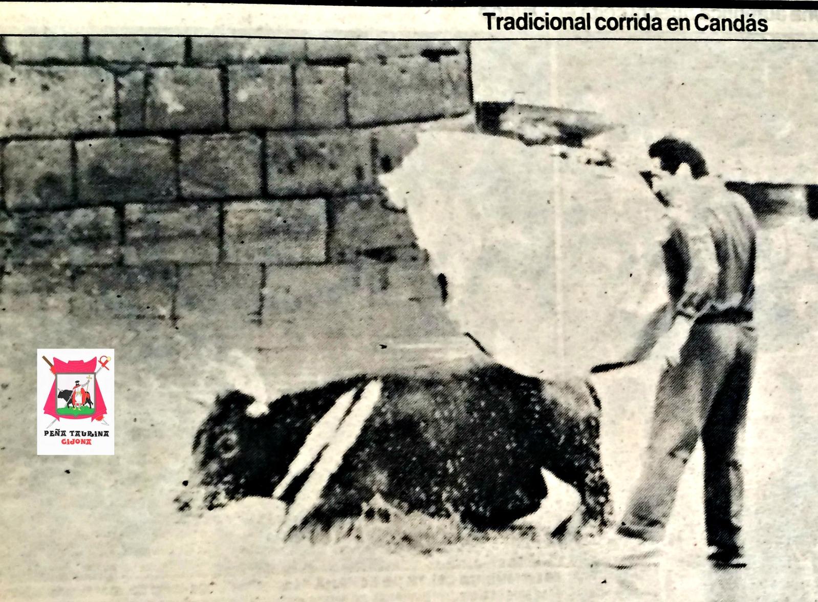 CANDÁS CORRIDA DE TOROS