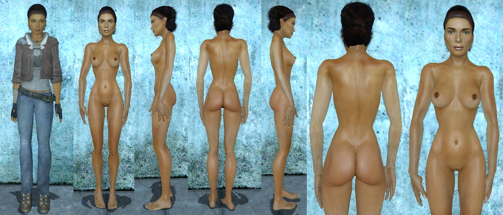 Nude alyx vance for gmod nudes video