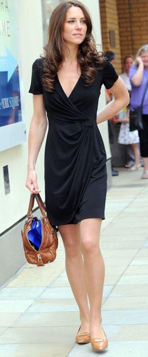 The Kate Middleton Fashion Blog Black Issa Dress Kings Road