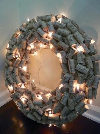 decoração de natal-decoração sustentável-natal-vinhos -dica