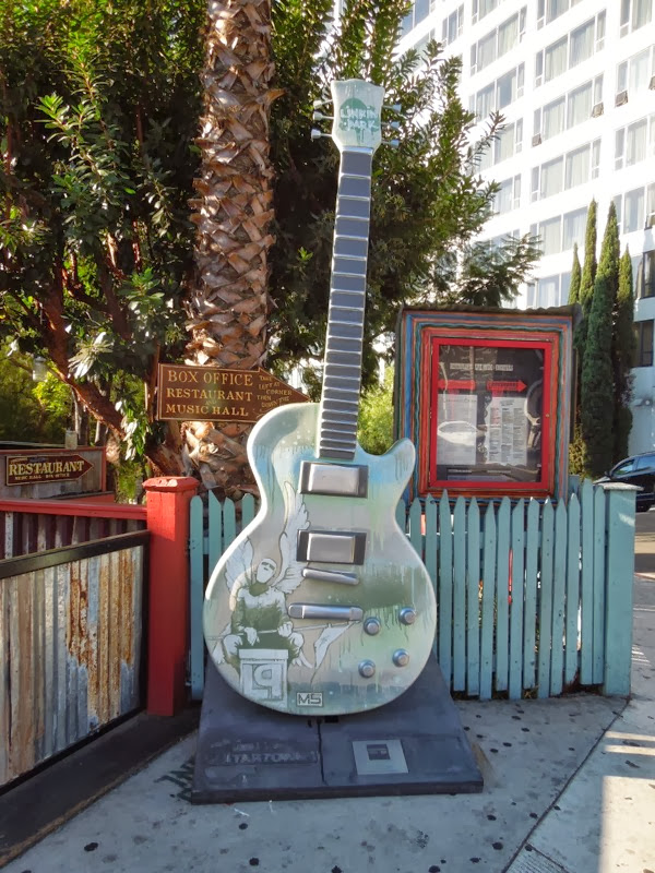 Mike Shinoda Linkin Park GuitarTown sculpture