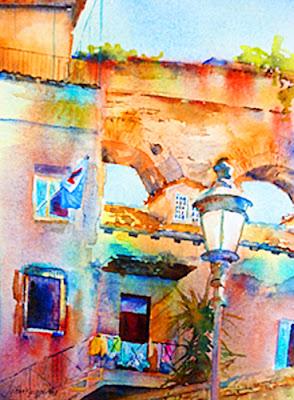 Water painting italia
