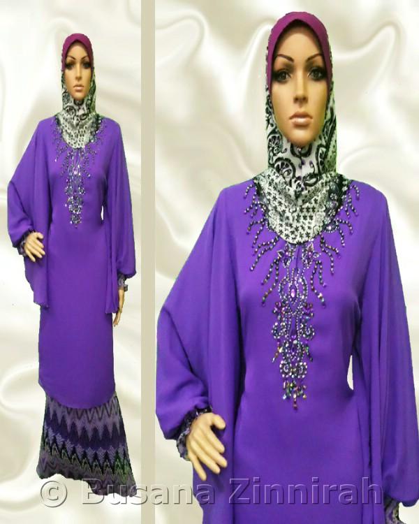 Baju Kurung Kaftan - BKK003
