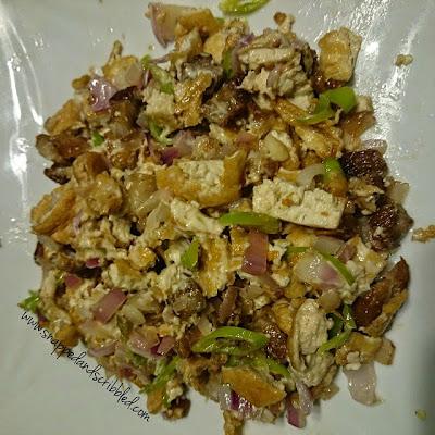 Tofu Sisig Recipe