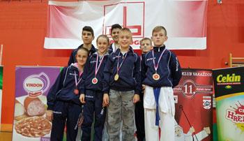 Šipovčani pokorili Varaždin: U Ljubuški sedam medalja