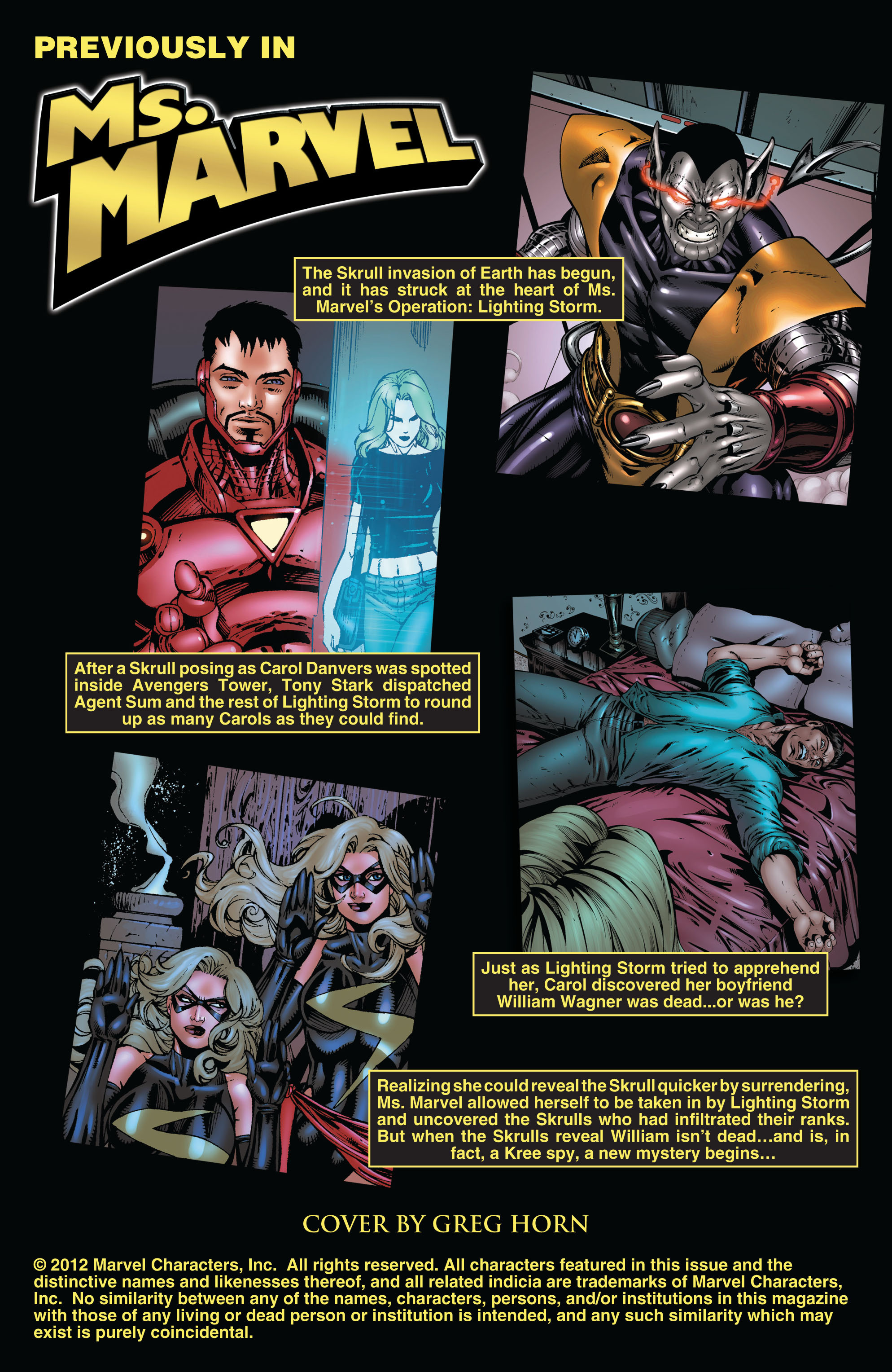 Read online Secret Invasion: The Infiltration comic -  Issue #10 - 2