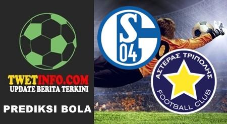 Prediksi Schalke 04 vs Asteras Tripolis