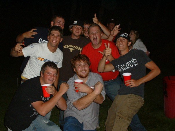 This Is One Of The First Parties We Ever Threw It Was In Backyard Had A Keg And Bonfire Back When Getting Big