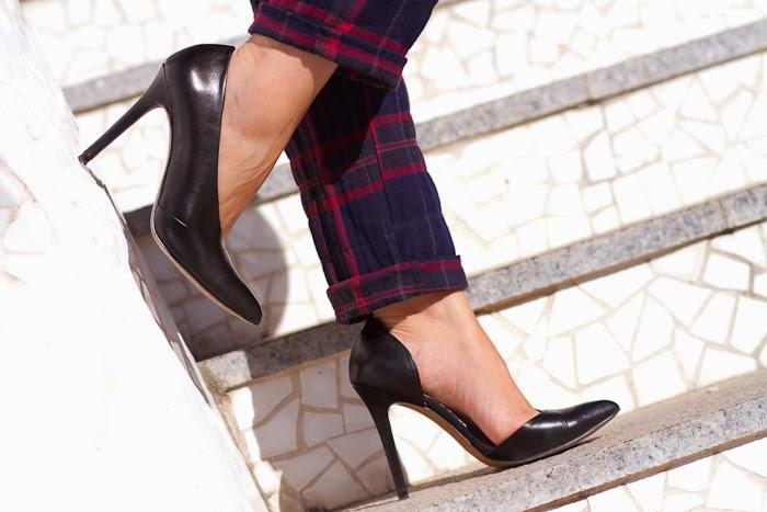 Zapatos asimétricos de Zara