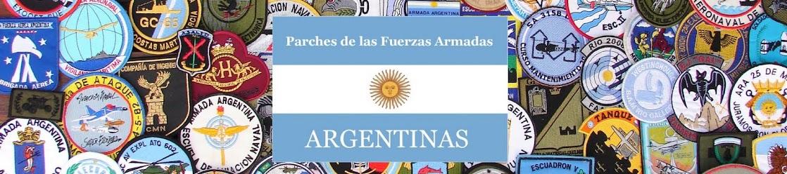 Parches de las Fuerzas Armadas Argentinas