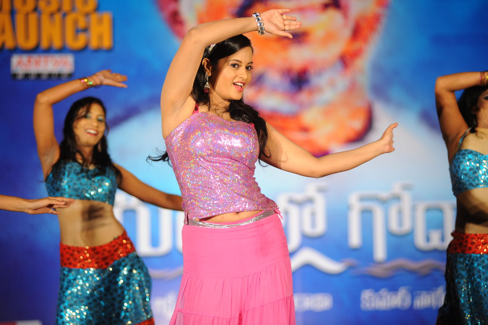 Actress Navel Show Photos
