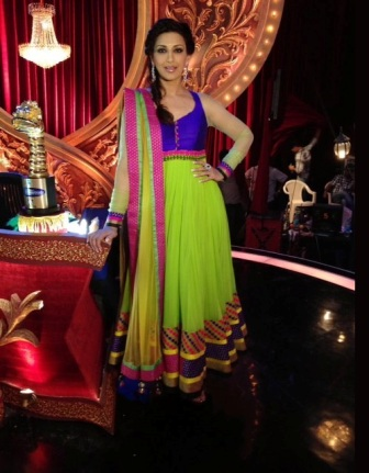 celebrity-In-Anarkali-Dress