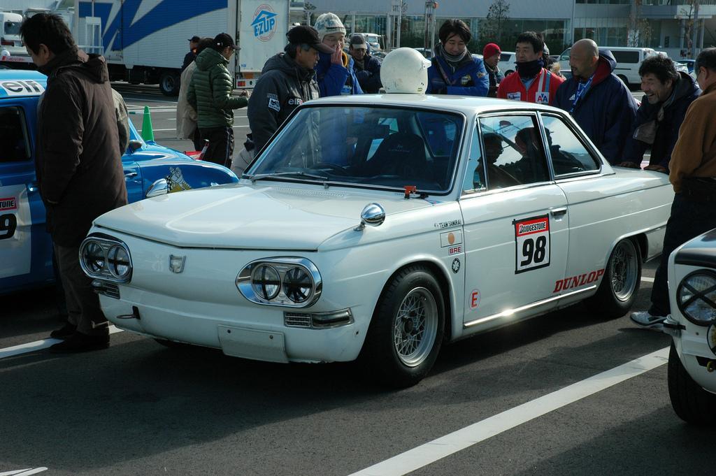 Hino Contessa 1300, coupe, klasyczny samochód, stare auto, japońskie, galeria