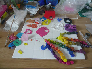 Colour Mixing with Polymer Clay