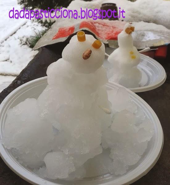 """Bien connu Dada Pasticciona: """"Snowballs"""" ovvero pupazzi di neve! XR73"""
