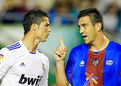 Levante Real Madrid Ballesteros Cristiano Ronaldo