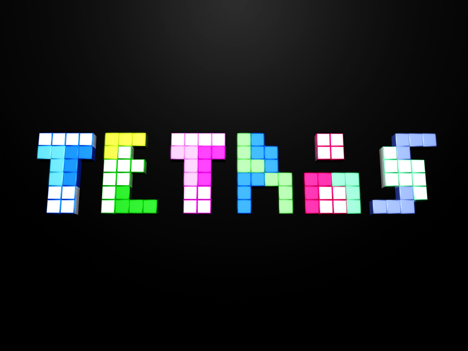 Tetris Colorful Blocks Cubes Hd Wallpapers Desktop