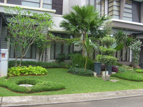 Taman Minimalis Modern Depan Rumah