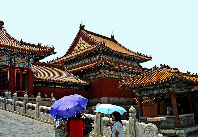 buildings inside Forbidden City