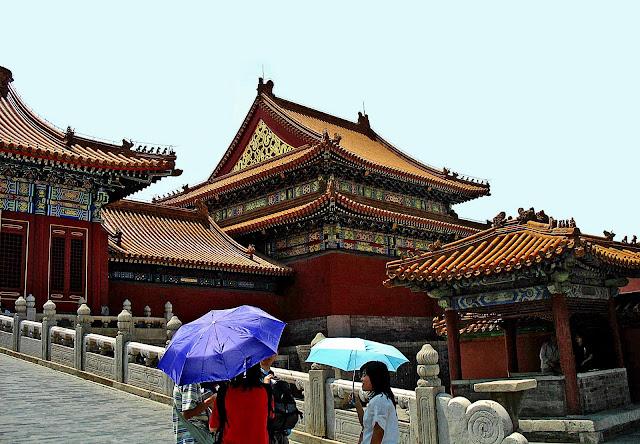 buildings inside Forbidden City