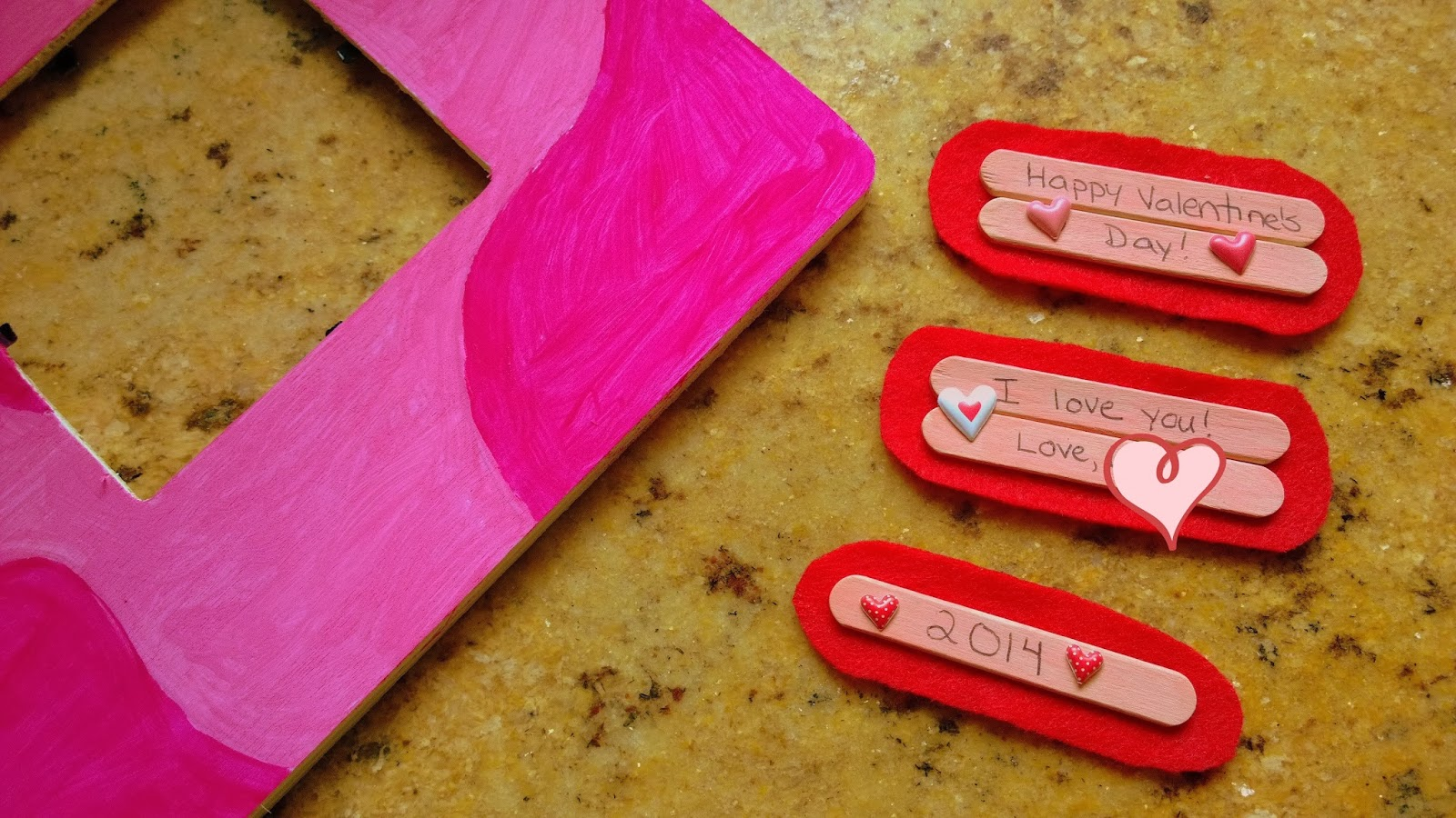 Valentine's Day Picture Frame Cards #shop