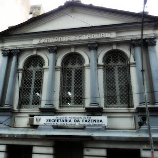 Prédio do Antigo Banco Pelotense, em Santana do Livramento