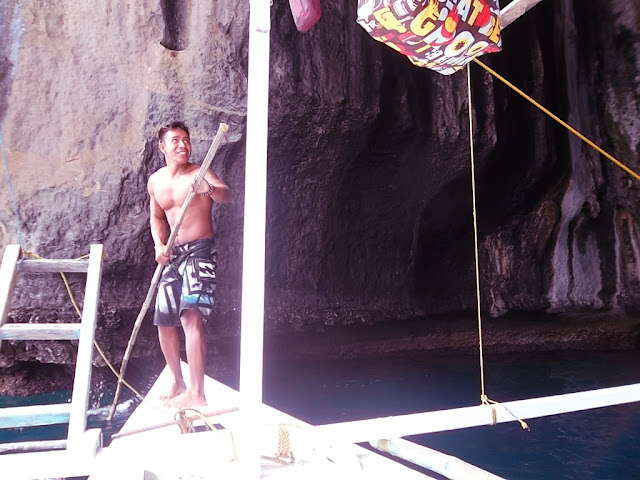 loloy; our lifeguard, tour guide, boatman