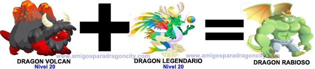 como sacar el dragon rabioso en dragon city formula 3