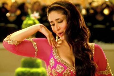 Kareena Kapoor in Lucknowi Pink Gharara in Agent Vinod Video Song from Bollywood