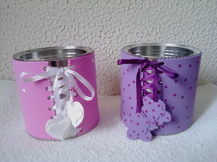 Mam e aprendiz lembrancinhas com latas de leite for Aplicaciones decoradas