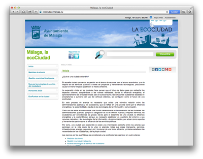 Web ecoCiudad