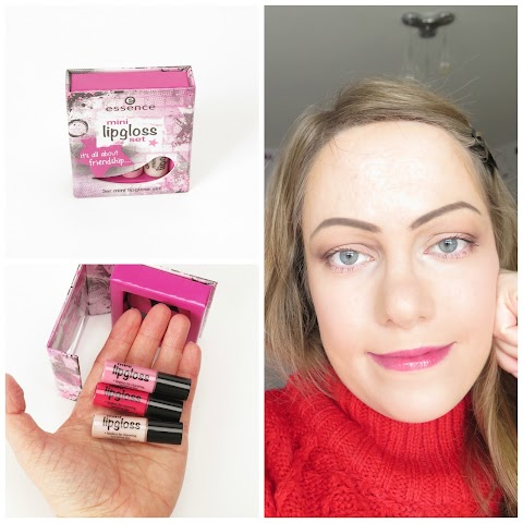 Essence mini lip gloss set rinkinys