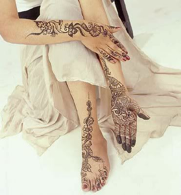 New Collection of Indian And Arabic Bridal Mehndi Designs.