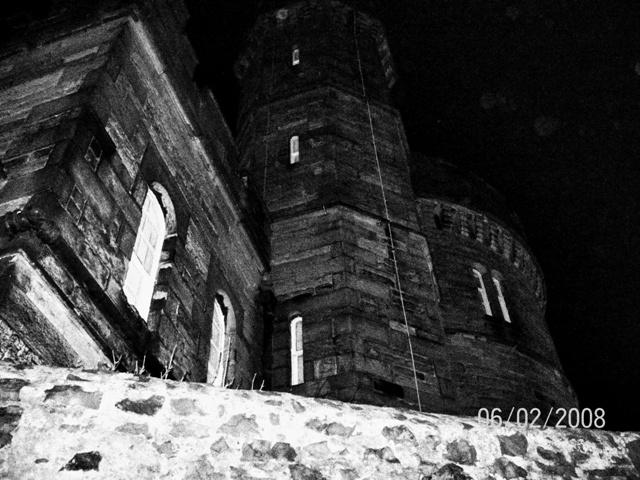 La Torre de Vigilancia en el Cementerio Old Calton